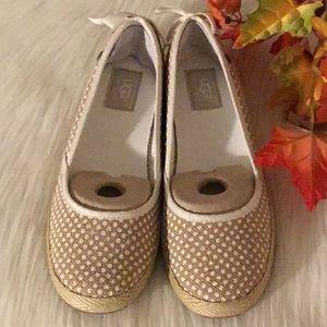 UGG Woman's Burlap Polka Dots Shoes